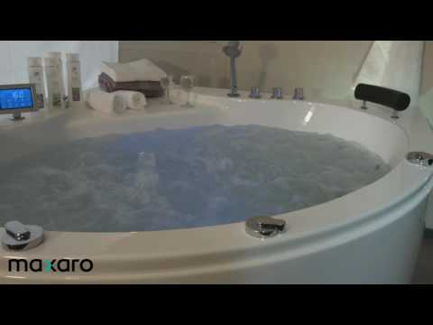 Bubbelbad whirlpool bad Maxaro