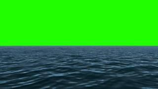 Green Screen Water - Ocean - Lake