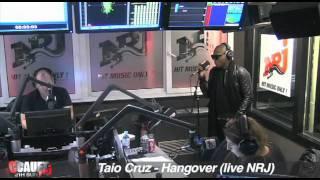 Taio Cruz - Hangover - Live - C'Cauet sur NRJ
