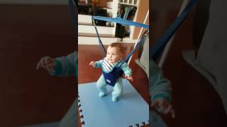 Babys first time with jolly jumper - cypress hill  jump around