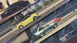 GTAV PC | #16 Stance Wars ♦ 4 ♦ Cars battle