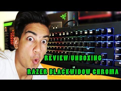 Review/Unboxing Razer Blackwidow Chroma