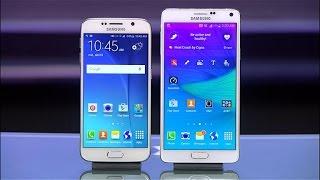 Samsung Galaxy S6 vs. Galaxy Note 4: ¿cuál es el mejor?