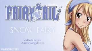 [FULL] Fairy Tail OP 1 -『Snow Fairy』- Original/Français