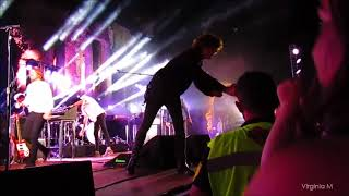 Some clips - end of Kasabian gig in Taormina