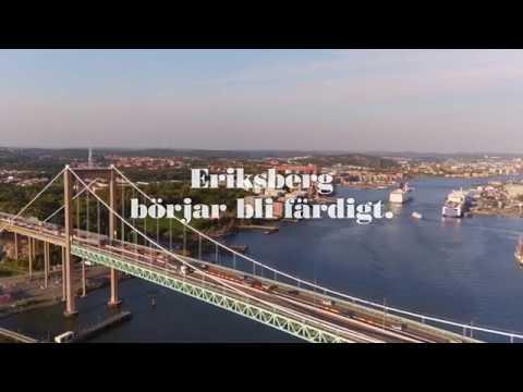 Kronjuvelen, JM Göteborg - Eriksberg börjar bli färdigt