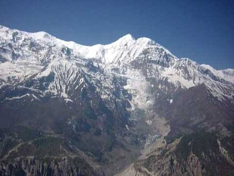View of Manang 3700m Lookout Nepal