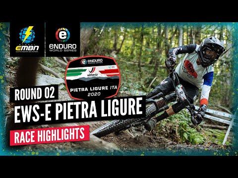 Vittoria Tires EWS-E Pietra Ligure Highlights | 2020 Enduro World Series Round 2