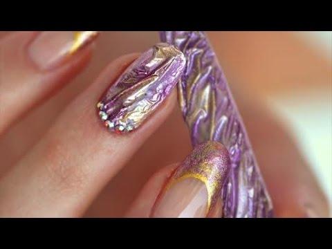 Nail Art Frozen