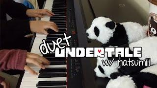 "【piano duet】 - ""undertale"" w/ wendy"