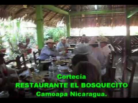 Nuevo CARNIC, Restaurante el Bosquecito Camoapa Nicaragua