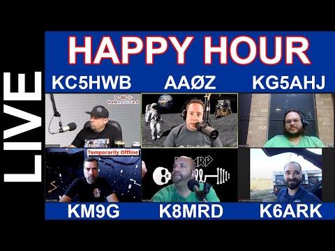 Ham Radio Happy Hour - Friday Night Stream