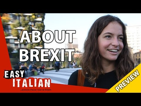 What do Italians think about Brexit? (Preview) | Easy Italian 24 photo