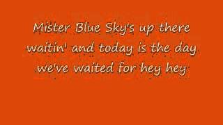 Mr. Blue Sky - E.L.O. With Lyrics!
