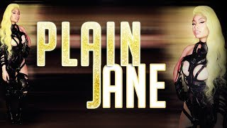 NEW - Nicki Minaj – Plain Jane [Remix] (Verse - Lyrics video)