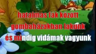 Hupikék törpikék (Karaoke)