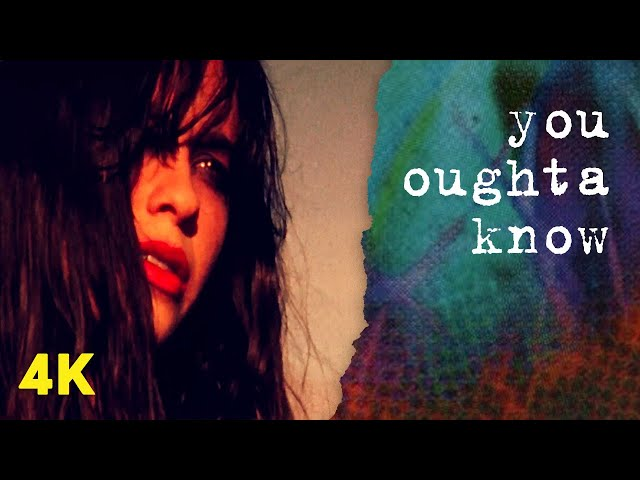 Video oficial de You Oughta know de Alanis Morissette