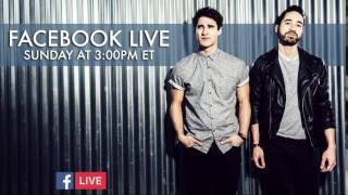 Darren Criss - Facebook Live this SUNDAY at 3pm ET