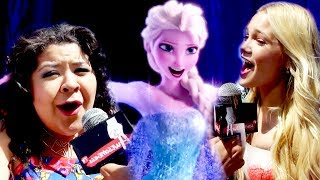 Disney Stars sing LET IT GO at Radio Disney Music Awards 2014