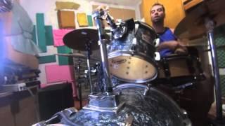 Marcelo D2 - Qual é?- cover drum bateria  - my version - minha versão - sem ensaio - unrehearsed