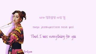 Seohyun (서현) Don't Say No Lyrics (Han Rom Eng) Color Coded