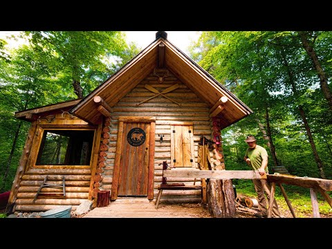 Taking a Break at my Off Grid Log Cabin Build