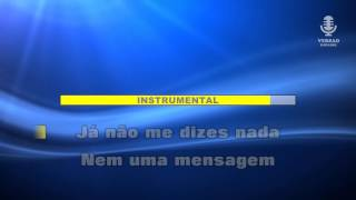 ♫ Karaoke AGORA É TARDE - D.A.M.A