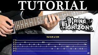 Cómo tocar Avalanche de Bring Me The Horizon (Tutorial de Guitarra) / How to play width=