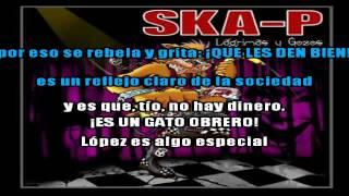 el gato lopez  ska-p - karaoke