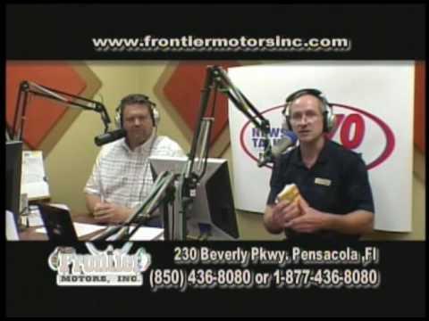 Frontier Motors TV Show March 30 2010 Pensacola