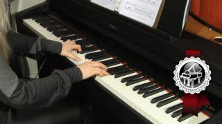 "SAINT-SAENS - ""The Swan"" from Carnival of the Animals Piano Version"