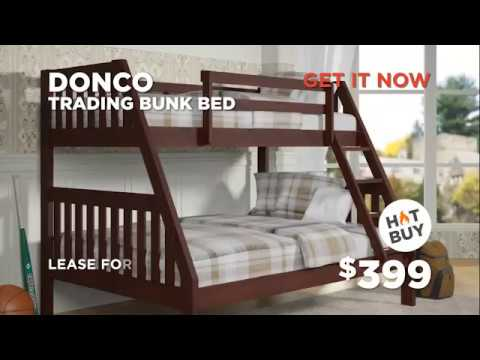 Cavalinno, queen mansion poster bed & Donco, trading bunk bed