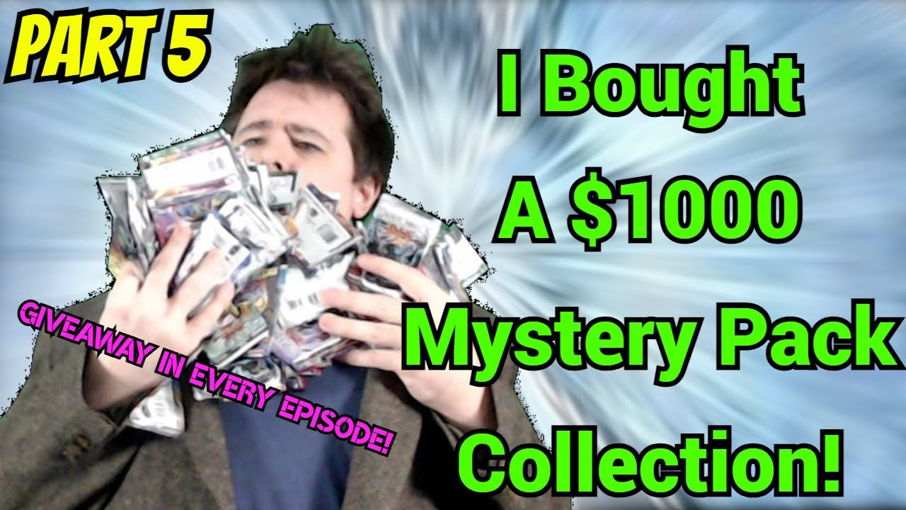 GGVision - I BOUGHT A *$1000* Yu-Gi-Oh! MYSTERY PACK COLLECTION! - Part 5/8 - 3 ULTIMATES & A GHOST PULL?!