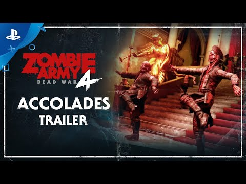 Zombie Army 4: Dead War – Accolades Trailer   PS4