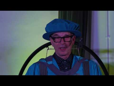 Presentation of Honorary Doctorate to Tony Visconti by Kingston University