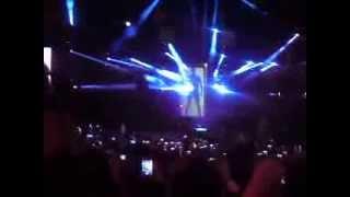 Entrada Show Luan Santana em Alterosa-MG (16/12/13)