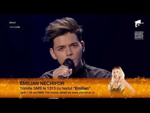 """Lora - """"Ne împotrivim"""". Emilian Nechifor, a doua gală live X Factor!"""