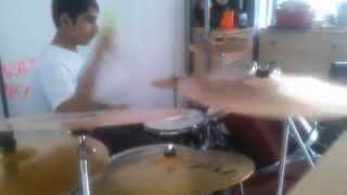 Nine Lashes/You Are The Light Drum Cover