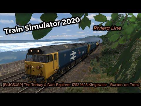 [BMG50SP] The Torbay & Dart Explorer 1Z52 16:15 Kingswear - Burton-on-Trent