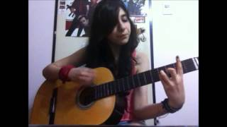 Rebel Love Song- Black Veil Brides Acoustic cover