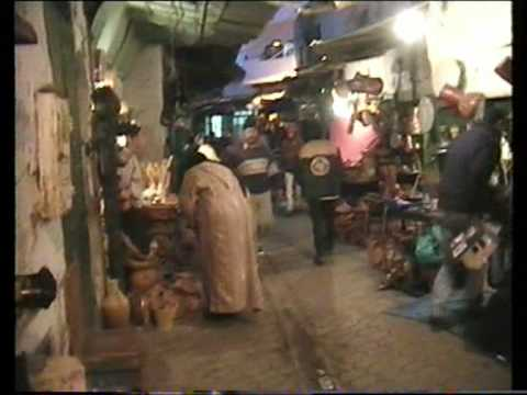 Moroccan market at night – Tetouan 2006