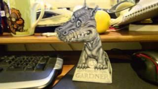 3D Dragon Illusion Gardner