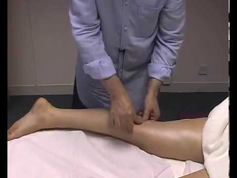 soothing leg massage 3, posterior leg