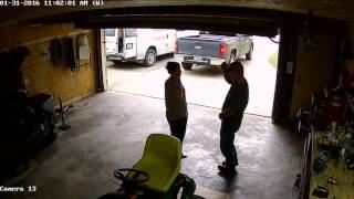 Dancing in Garage
