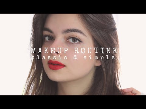 Everyday Makeup Routine | Simple, Classic Look