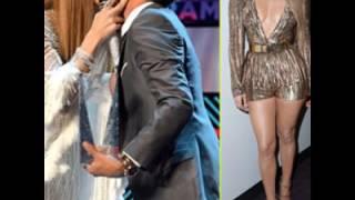 Jennifer Lopez Kisses Marc Anthony at Latin Grammys