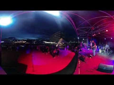 Vuze 360 Night Test (4K 3D)