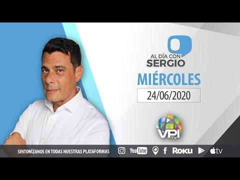 EN VIVO - Al Día con Sergio Novelli - Miércoles 24 de Junio