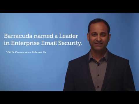 Barracuda Leader in Enterprise Email Security Forrester Wave