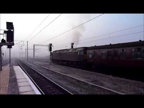 60009 and 47804 at York with The York Yuletide Express on 13th December 2012